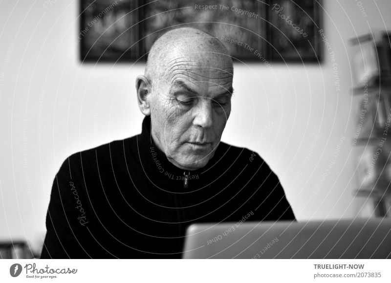 Ronald Steckel, Regisseur Bildung Arbeitsplatz Männlicher Senior Mann Leben 60 und älter Kunst Künstler Kultur Medien Arbeit & Erwerbstätigkeit Denken