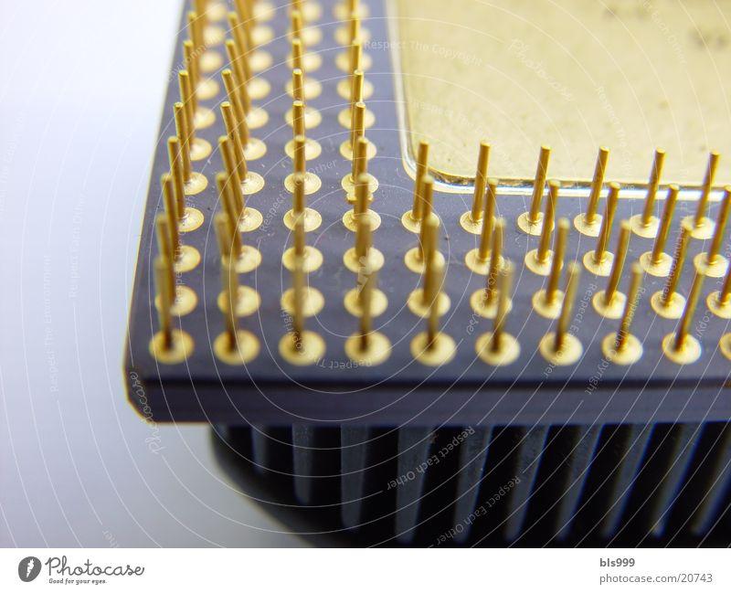 Stifte Prozessor Makroaufnahme Elektrisches Gerät Technik & Technologie