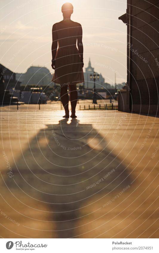 #A# The Unknown Kunst Kunstwerk ästhetisch Dresden mystisch Zwinger Mädchen Frau Sonnenaufgang Altstadt Mysterium anonym Schatten gold Farbfoto mehrfarbig