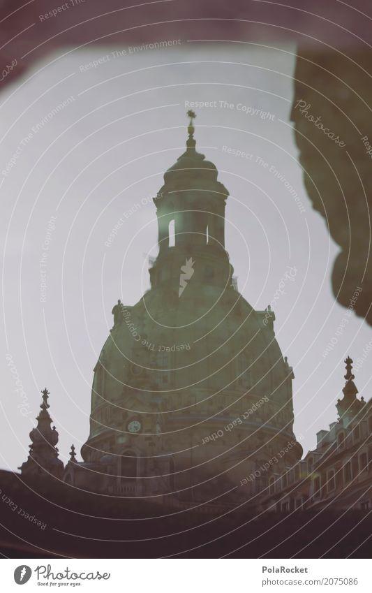 #A# Dresdner Old Lady Fassade Kultur Dresden Frauenkirche Kuppeldach Reflexion & Spiegelung historisch Historische Bauten Erneuerung Barock Sehenswürdigkeit
