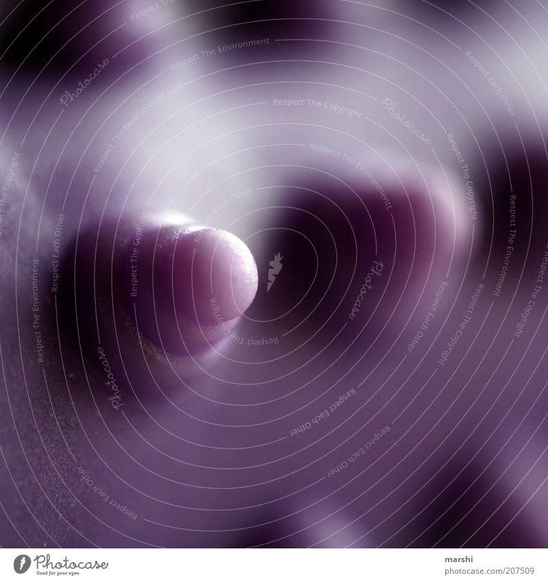 mein Name ist Noppe schön rund violett Dinge Körperpflege Massage Körperpflegeutensilien abstrakt Massagebürste