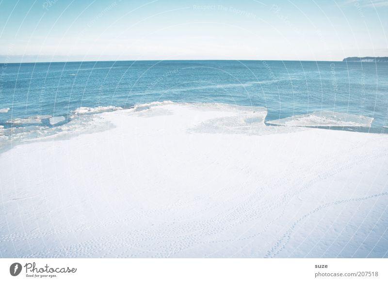 Eisfläche Himmel Natur blau weiß Meer Einsamkeit Winter Landschaft Umwelt kalt Schnee Küste Luft Horizont Eis außergewöhnlich