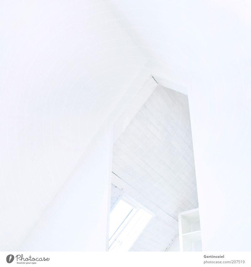Weißraum weiß Wand Architektur Mauer Stil hell Linie Innenarchitektur Hintergrundbild Raum Wohnung elegant Design leer Lifestyle Häusliches Leben