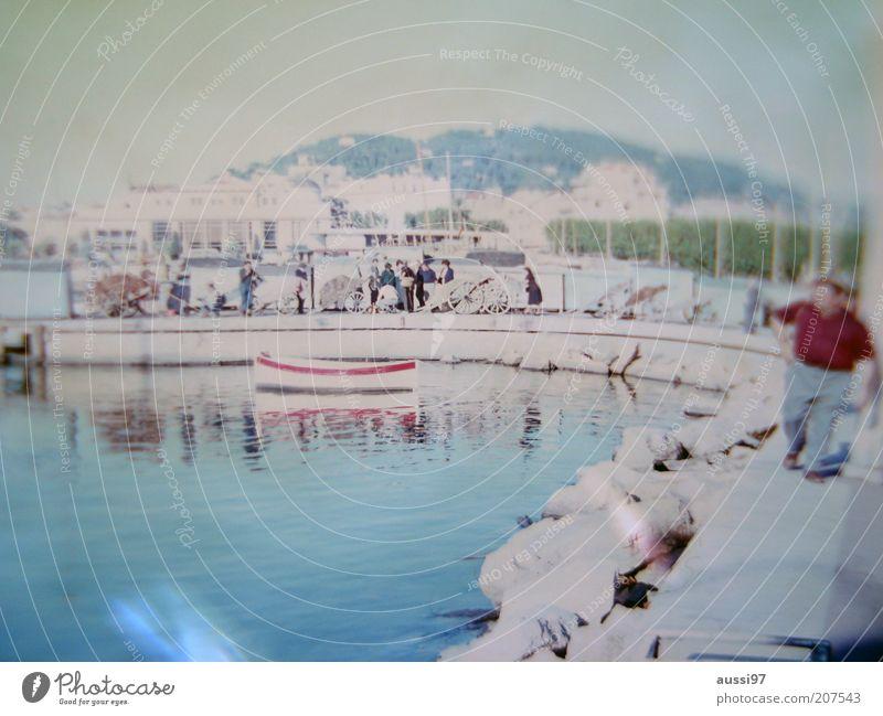 del Mar Himmel Wasser Ferien & Urlaub & Reisen Berge u. Gebirge Küste träumen Wasserfahrzeug Hafen Angeln Steg Fischer Hafenstadt Beruf Urlaubsfoto