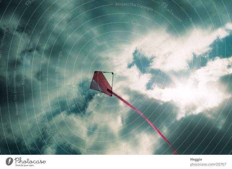 Windvogel Wolken Dinge Lenkdrachen
