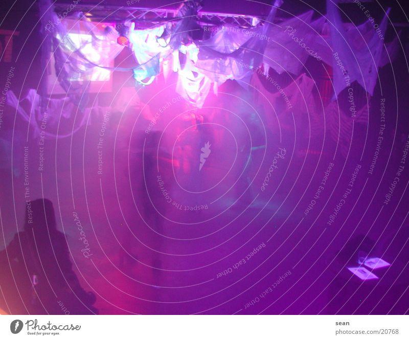 Dancing in the light Party Licht Disco Menschengruppe Tanzen Partygast