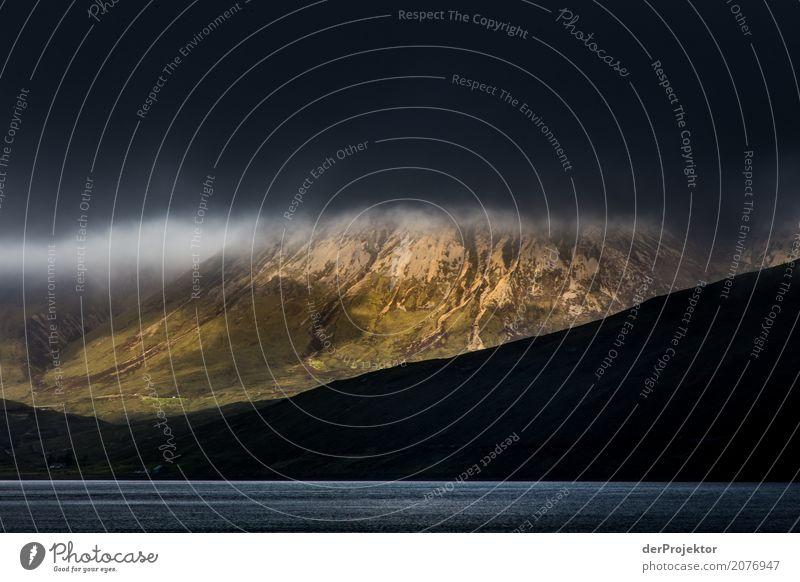 Partiell gutes Wetter am Loch Ainort Ferien & Urlaub & Reisen Tourismus Ausflug Abenteuer Ferne Freiheit Berge u. Gebirge wandern Umwelt Natur Landschaft