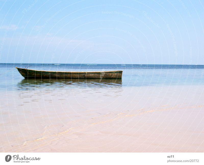 Seele baumeln lassen Meer Strand Erholung Wasserfahrzeug Dominikanische Republik