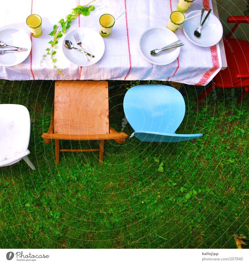 für unsere kleinen gäste Festessen Geschirr Teller Tasse Becher Besteck elegant Stil Glück Freizeit & Hobby Party Veranstaltung Feste & Feiern Geburtstag Taufe