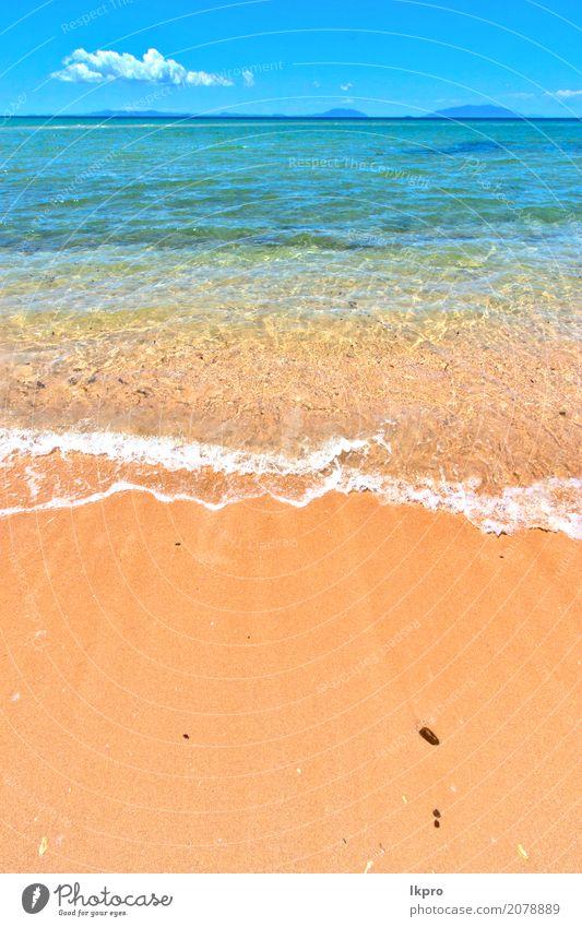 Indischer Ozean neugierig Madagaskar Sand Insel Himmel und Schaum Erholung Ferien & Urlaub & Reisen Ausflug Freiheit Sommer Strand Meer Wellen Natur Landschaft