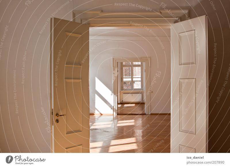 ...flügeltür... Reichtum Stil Design Wohnung Umzug (Wohnungswechsel) einrichten Innenarchitektur Raum Mauer Wand Fenster Tür leuchten alt authentisch