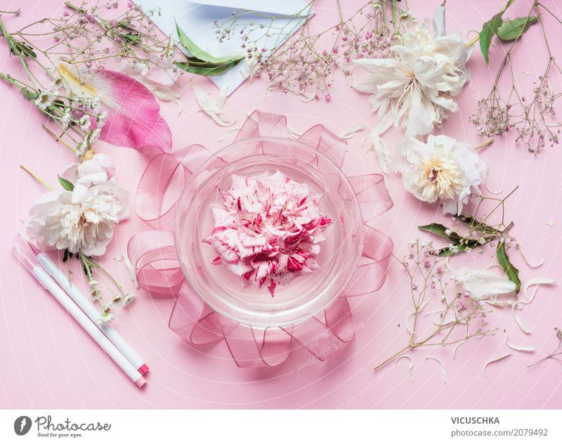 Blumen Dekoration für Hochzeit machen Lifestyle Stil Design Sommer Innenarchitektur Dekoration & Verzierung Feste & Feiern Valentinstag Muttertag Geburtstag