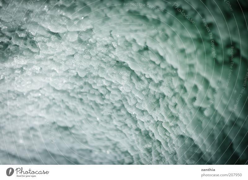 Eis kalt Eis Frost gefroren Gletscher Höhle Natur Gletschereis