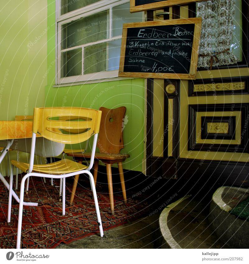 kreidezeit Lifestyle Stil Glück Freizeit & Hobby Ferien & Urlaub & Reisen Ausflug Sommer Sommerurlaub Häusliches Leben Stuhl Tisch Restaurant ausgehen Erholung