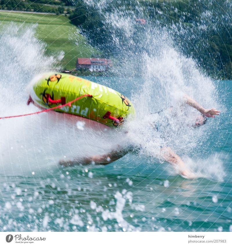 Seepferdchen Wassersport Sportveranstaltung Verlierer tauchen Mensch maskulin Junger Mann Jugendliche Leben Arme Hand Beine Umwelt Natur Sommer Wetter