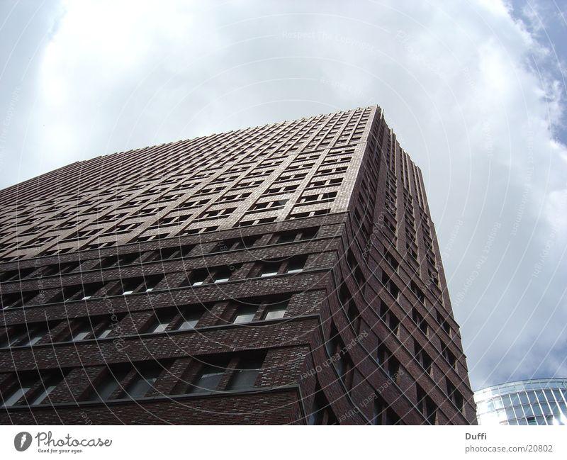Hoch hinaus Hochhaus Etage Haus Dinge Himmel Aussicht