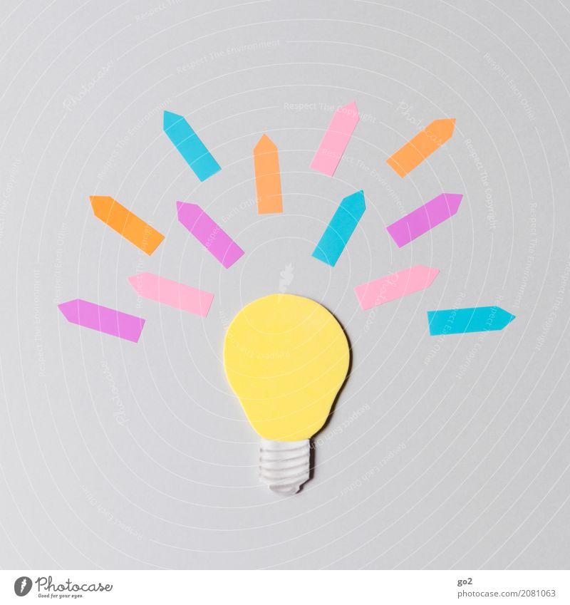 Idee! Freizeit & Hobby Basteln Werbebranche Erfolg Papier Zeichen Pfeil außergewöhnlich einfach neu Neugier einzigartig Energie entdecken innovativ Inspiration