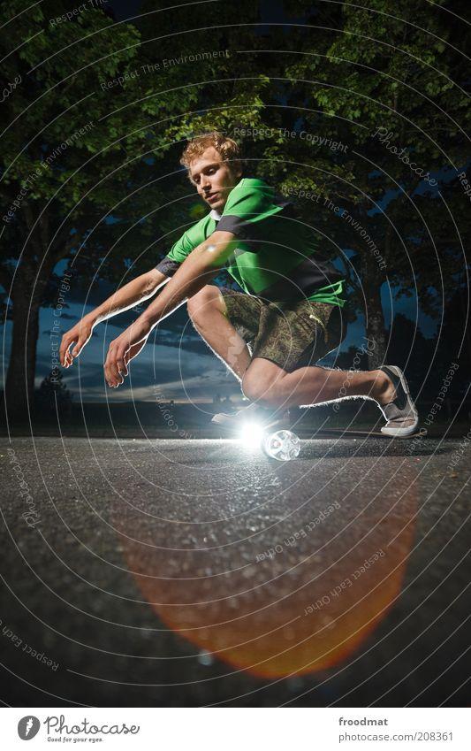 cool down Mensch Jugendliche Sommer Sport springen Spielen maskulin Lifestyle ästhetisch Coolness Freizeit & Hobby Asphalt Fitness Lebensfreude Skateboarding