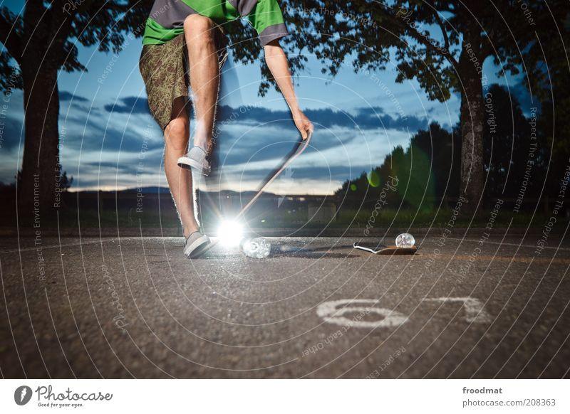 paingrab Mensch Jugendliche Sommer Freude Sport springen Spielen maskulin Lifestyle ästhetisch Coolness Freizeit & Hobby Asphalt Fitness Lebensfreude