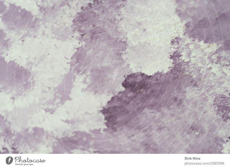 lila-weiß Kunst Ausstellung Kunstwerk Gemälde Kultur violett Hintergrundbild Pinselstrich getupft Wolkenbild Aquarell abstrakt rosa Menschenleer