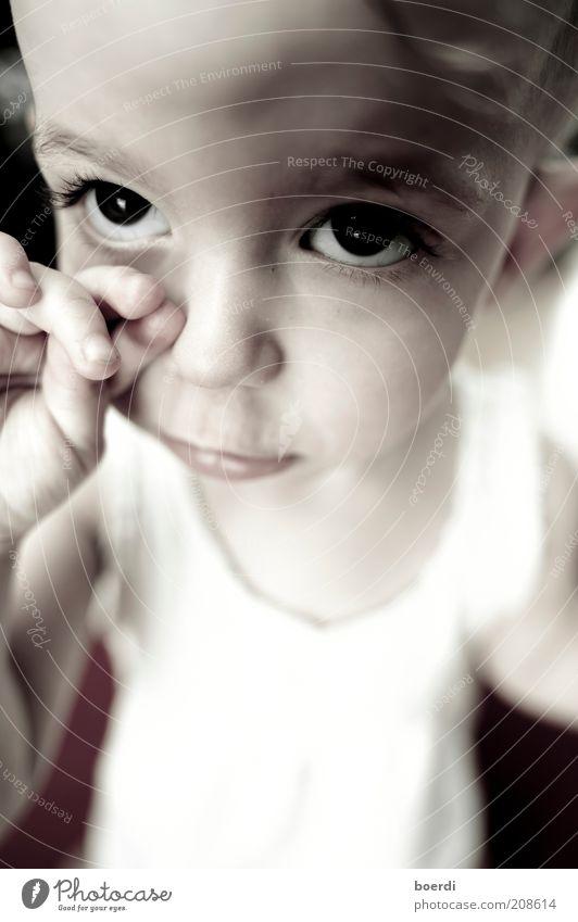 eXtraterestrisch Mensch Kind schön Gesicht Leben klein Stimmung Kindheit Baby außergewöhnlich Finger authentisch Perspektive einzigartig Symbole & Metaphern nah