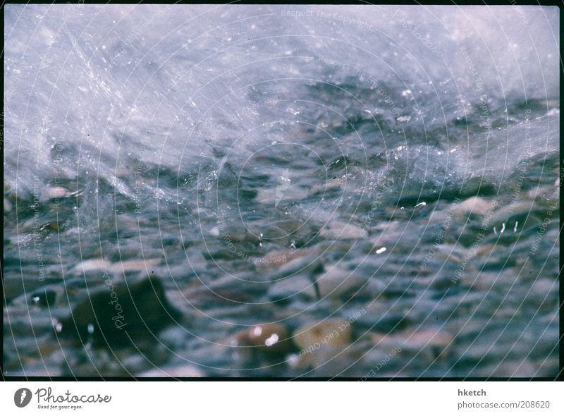 The Last Summer of Kodachrome: The Wave Natur Wasser weiß Sonne Meer blau Sommer Freude Strand Ferne kalt Erholung Bewegung Wärme Wellen Küste