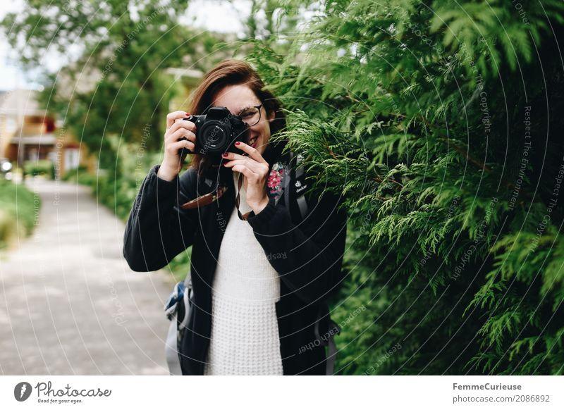 Roadtrip West Coast USA (61) feminin Junge Frau Jugendliche Erwachsene Mensch 18-30 Jahre 30-45 Jahre Freizeit & Hobby Fotograf Fotografieren fokussieren