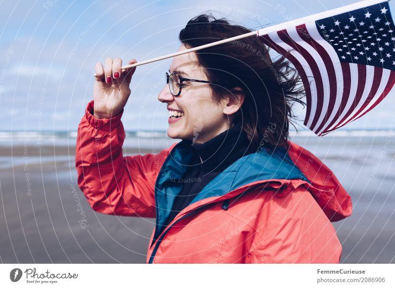 Roadtrip West Coast USA (10) Lifestyle feminin Junge Frau Jugendliche Erwachsene Mensch 18-30 Jahre 30-45 Jahre Freiheit Reisefotografie