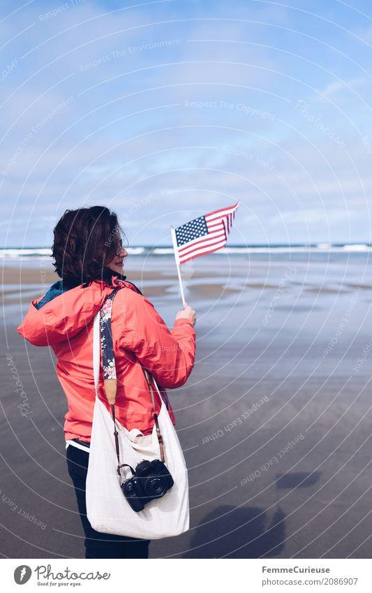 Roadtrip West Coast USA (15) feminin Junge Frau Jugendliche Erwachsene Mensch 18-30 Jahre 30-45 Jahre Natur Reisefotografie Ferien & Urlaub & Reisen Tourismus
