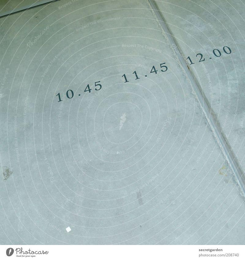 [H 10.1] time. Dekoration & Verzierung Zeitplanung Kunst Museum Gebäude Betonwand Ziffern & Zahlen Linie grau Verlässlichkeit Pünktlichkeit Beginn Ende