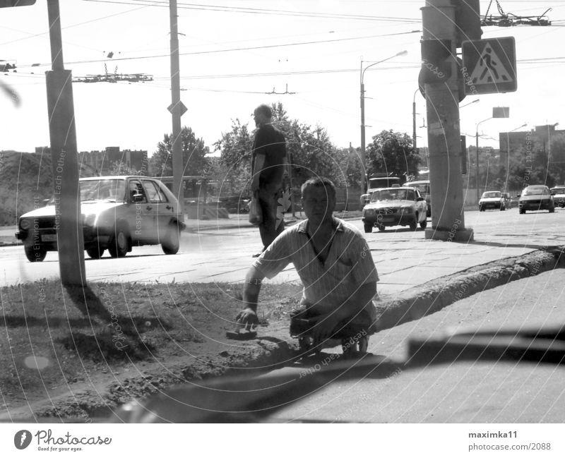 Auf den Strassen von Minsk Mensch minsk menschen strasse