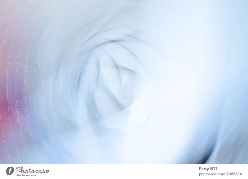 . Mauer Wand drehen hell rund weich weiß Bewegung bizarr Surrealismus Spirale Hintergrundbild abstrakt Gedeckte Farben Experiment Muster Menschenleer