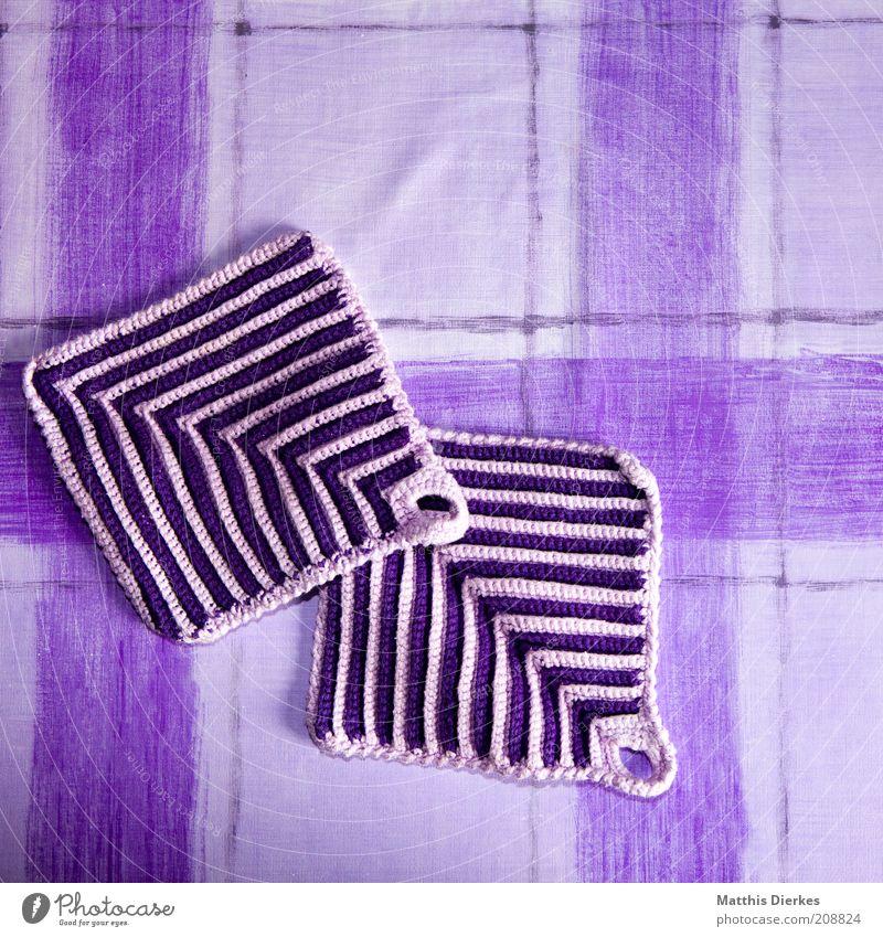Geschmacksverirrung Sicherheit ästhetisch Küche violett Mittagessen hässlich Haushalt geschmackvoll abstrakt Mahlzeit Ernährung Kaffeetrinken Topflappen