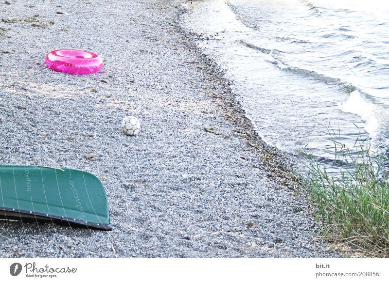 Strandspielzeug Natur Wasser Meer Pflanze Sommer Freude Ferien & Urlaub & Reisen Ferne Erholung Bewegung Glück See Landschaft Wasserfahrzeug Wellen