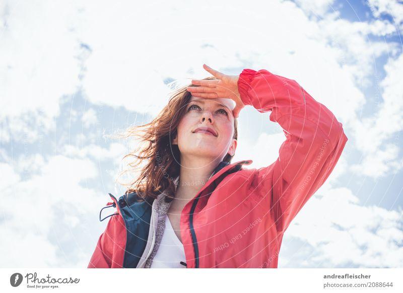 Road Trip // West Coast US of A Mensch Himmel Ferien & Urlaub & Reisen Jugendliche Junge Frau schön Wolken Ferne 18-30 Jahre Erwachsene feminin Glück