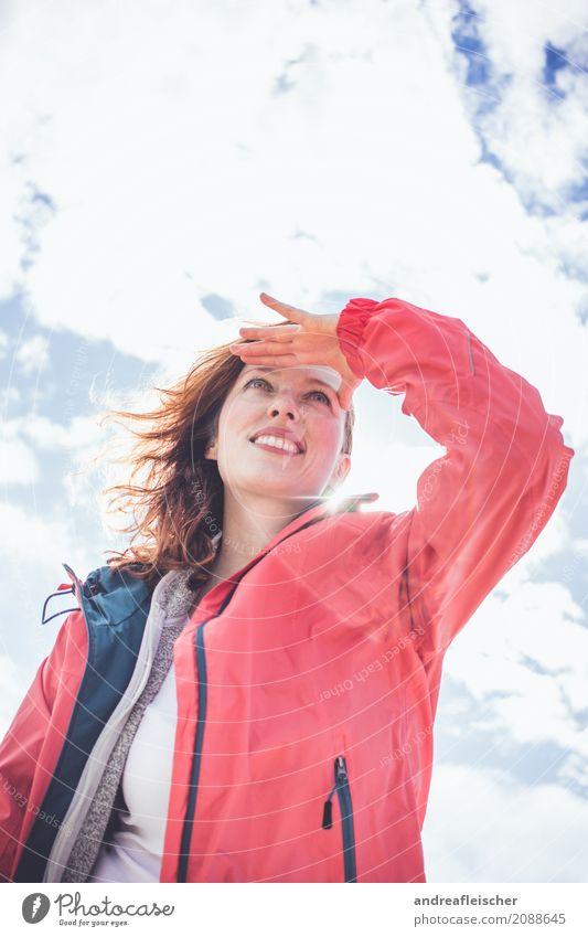 Road Trip // West Coast USA, Oregon Mensch Himmel Ferien & Urlaub & Reisen Jugendliche Junge Frau Sommer Sonne Wolken Ferne 18-30 Jahre Erwachsene Frühling