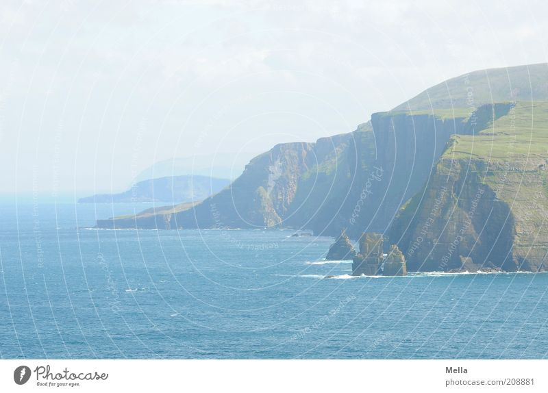 Am Cape Wrath - Neuauflage Ferien & Urlaub & Reisen Ausflug Ferne Freiheit Meer Umwelt Natur Landschaft Felsen Küste Klippe frei natürlich blau Stimmung