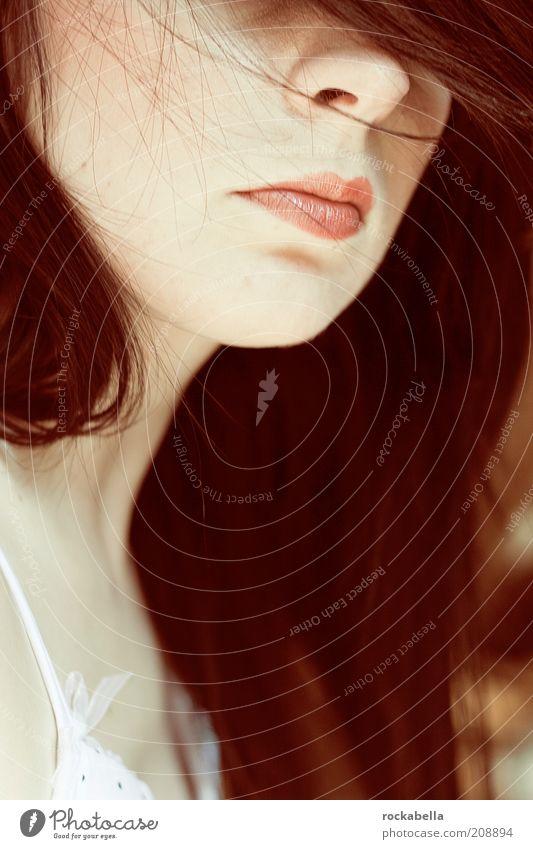 milchmädchen. Frau Mensch Jugendliche schön Gesicht Erotik feminin Haare & Frisuren Wärme Haut Erwachsene elegant ästhetisch retro Romantik