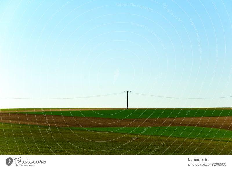 Elektriker Ferne Frühling Landschaft Zufriedenheit Stimmung Feld Umwelt Energie frei Horizont frisch Energiewirtschaft Elektrizität Wachstum stehen einfach