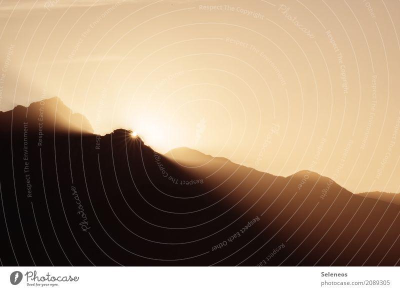 es werde licht Himmel Natur Ferien & Urlaub & Reisen Sommer Sonne Landschaft Erholung ruhig Ferne Berge u. Gebirge Umwelt natürlich Freiheit Tourismus Ausflug