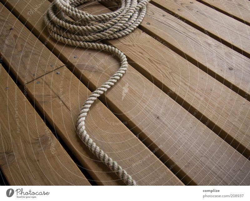 Sailer Ferien & Urlaub & Reisen Holz Wasserfahrzeug braun Seil Freizeit & Hobby Symbole & Metaphern Stillleben Holzfußboden Schiffsplanken Bootsfahrt