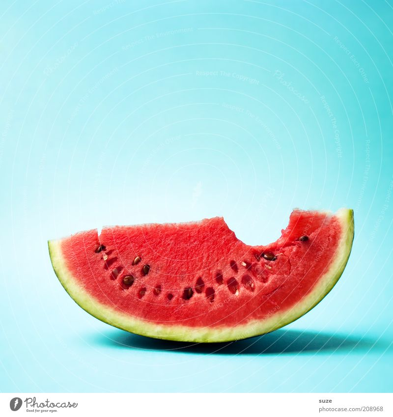 First Contact grün rot Frucht Lebensmittel leer frisch Ernährung süß Kreativität Idee Gebiss Appetit & Hunger Erfrischung lecker Bioprodukte Diät