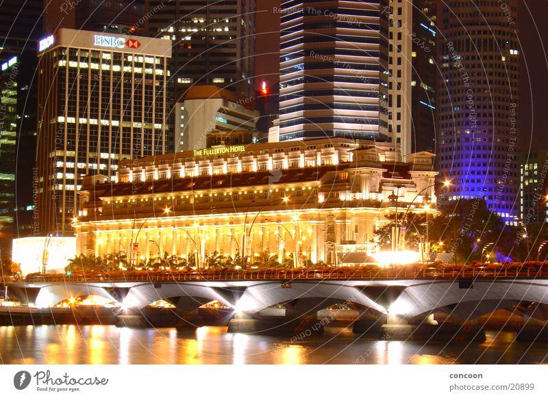 Im Glanze der Nacht (Fullerton) historisch erleuchten Thailand Singapore