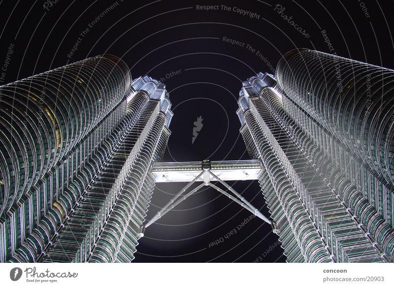 Petronas Towers Kuala Lumpur Petronas Twin Towers Malaysia Hochhaus Macht Los Angeles groß hoch