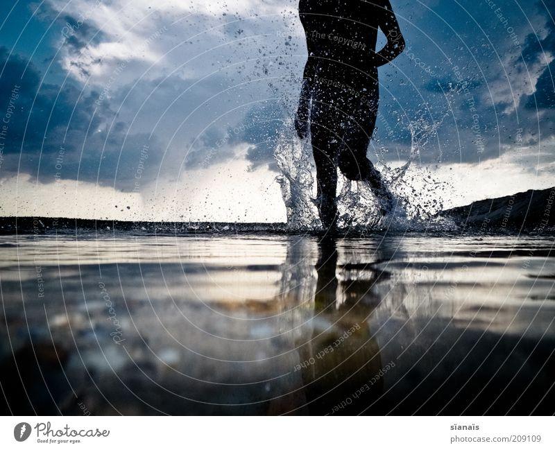 wasserläufer Freude Freizeit & Hobby Ferien & Urlaub & Reisen Tourismus Abenteuer Freiheit Sommer Sport Fitness Sport-Training Wassersport Joggen Mensch