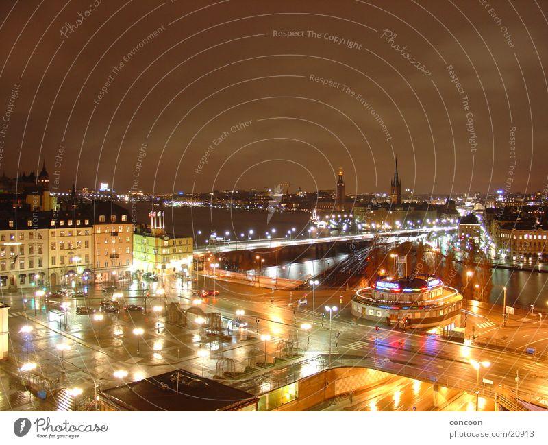 Northern Lights: Stockholm Stadt Europa Skandinavien Stadtzentrum Schweden Norden Nordeuropa