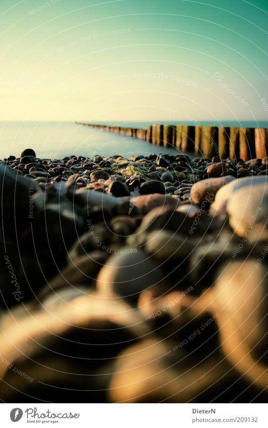 Grün Natur Wasser Himmel Meer grün Sommer Strand ruhig schwarz gelb Stein Wärme Landschaft Luft Wetter Umwelt