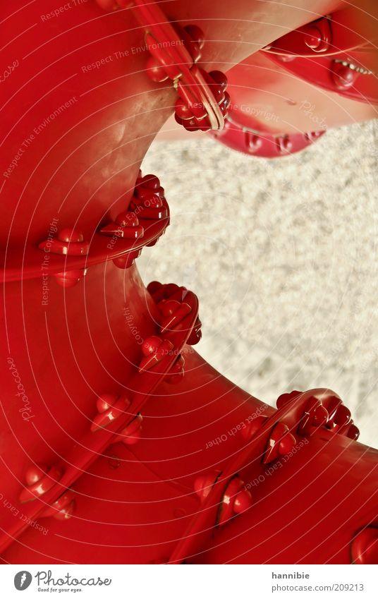 drehmoment rot Freude Spielen Bewegung Freizeit & Hobby Spielzeug Röhren Kunststoff drehen Kurve abwärts Spielplatz Schraube Biegung Rutsche