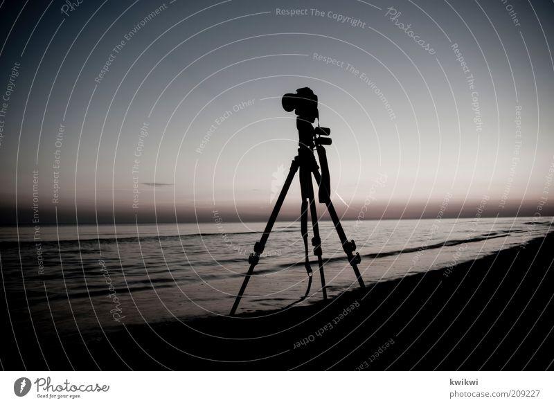 und es wird nie langweilig Fotokamera Natur Landschaft Sand Luft Wasser Himmel Horizont Sonnenaufgang Sonnenuntergang Sommer Wellen Küste Strand Ostsee Meer