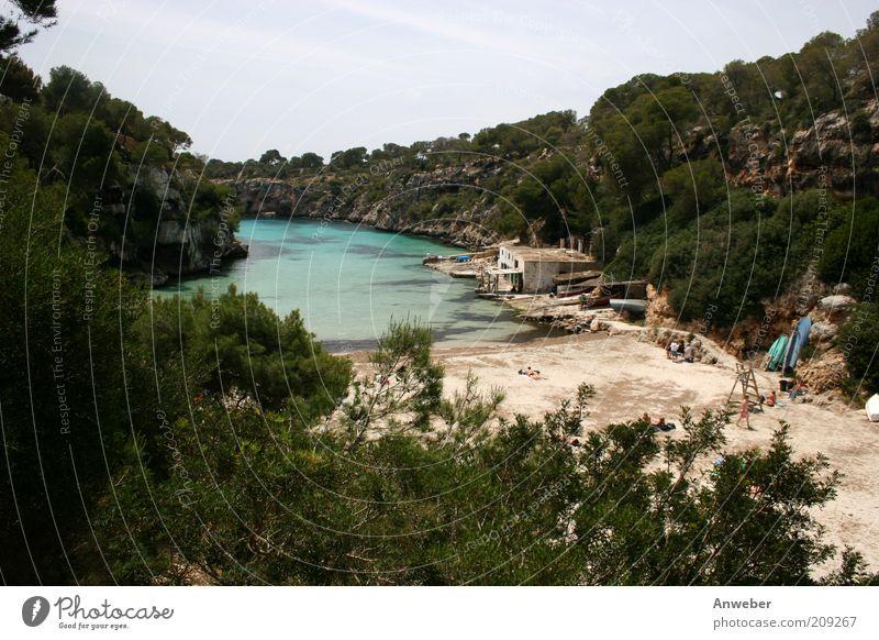 Cala Pi - Traumbucht auf Mallorca Natur Wasser schön Baum Meer Sommer Strand Ferien & Urlaub & Reisen Haus Erholung Gefühle Landschaft Umwelt Insel Tourismus Reisefotografie